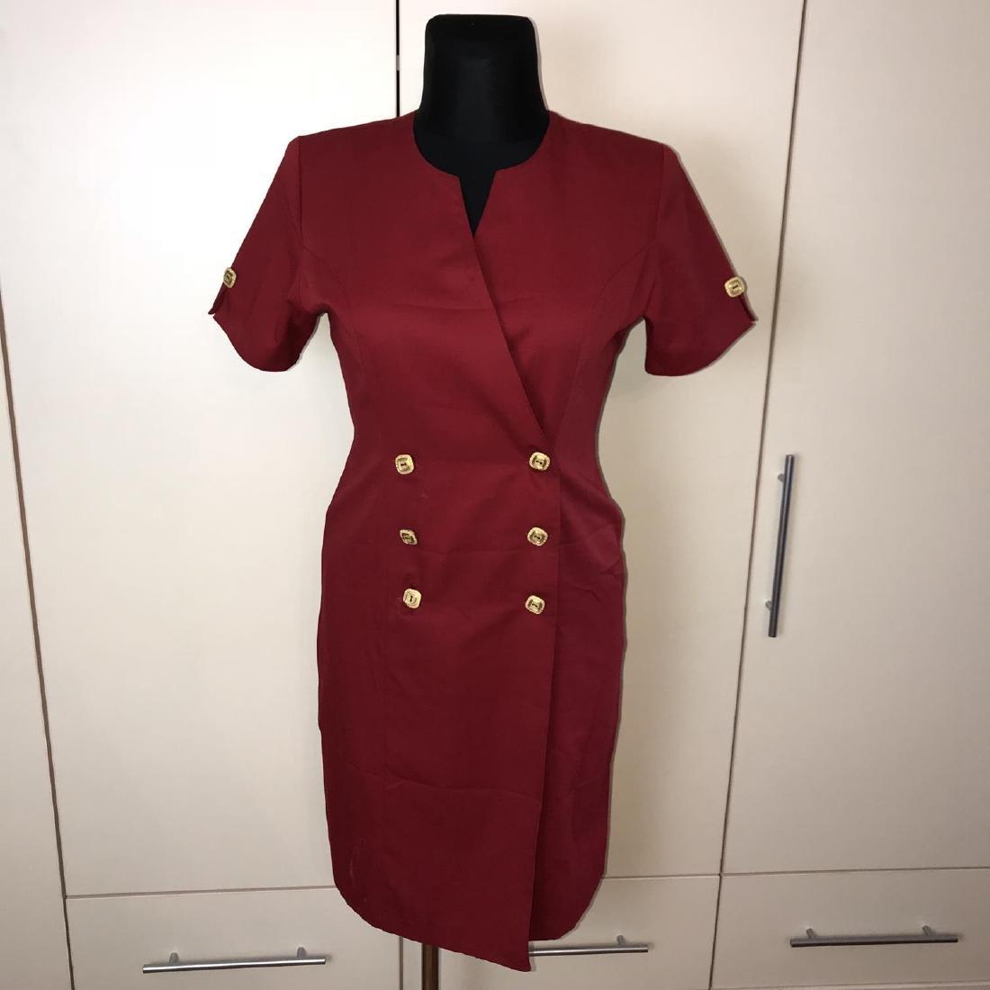 Vintage Women's French Designer Dress Size US 10 EUR 40