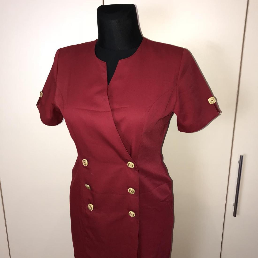 Vintage Women's French Designer Dress Size US 10 EUR 40 - 2