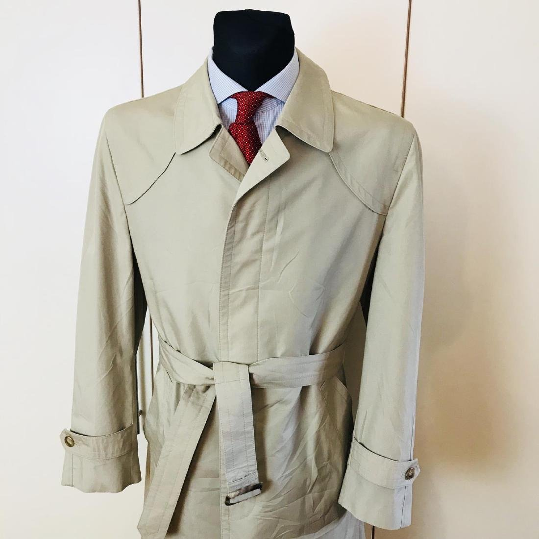 Vintage Men's Beige Trench Coat Size US 40 / EUR 50 - 2