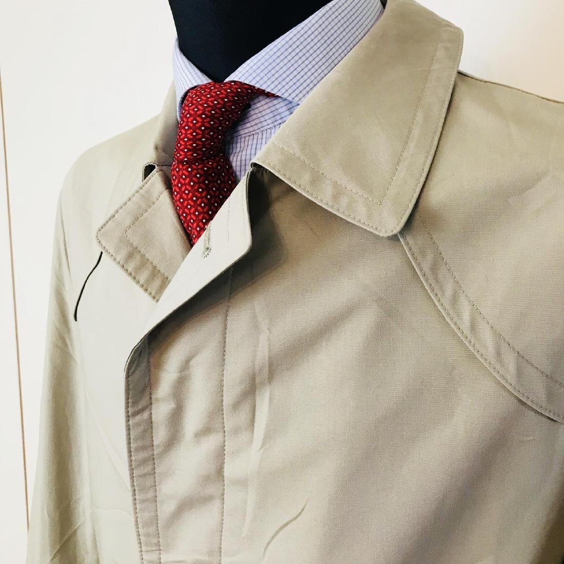 Vintage Men's Beige Trench Coat Size US 40 / EUR 50 - 3