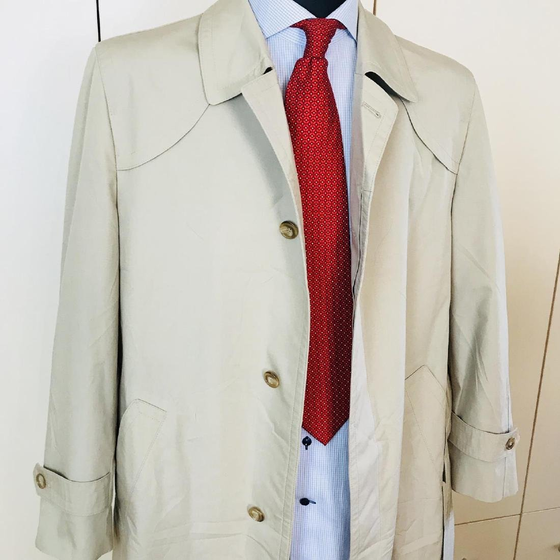 Vintage Men's Beige Trench Coat Size US 40 / EUR 50 - 6