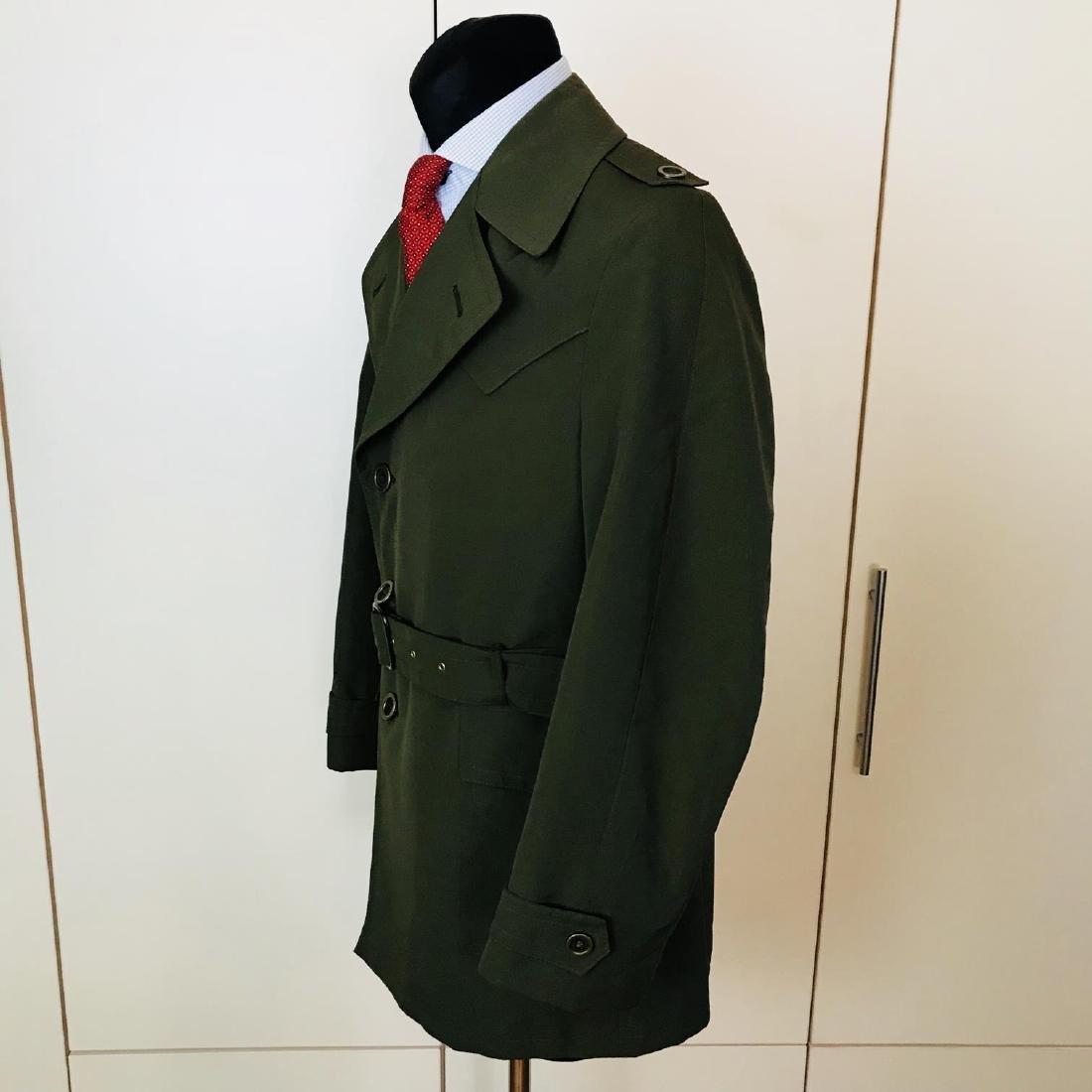 Vintage Men's Green Trench Coat Size US 38 / EUR 48 - 2