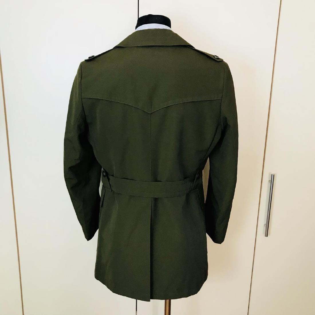 Vintage Men's Green Trench Coat Size US 38 / EUR 48 - 3
