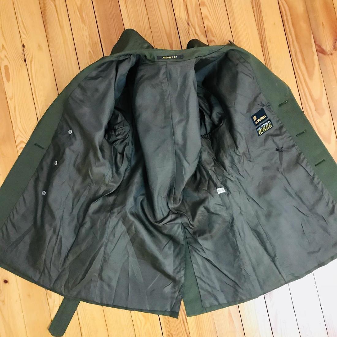 Vintage Men's Green Trench Coat Size US 38 / EUR 48 - 4