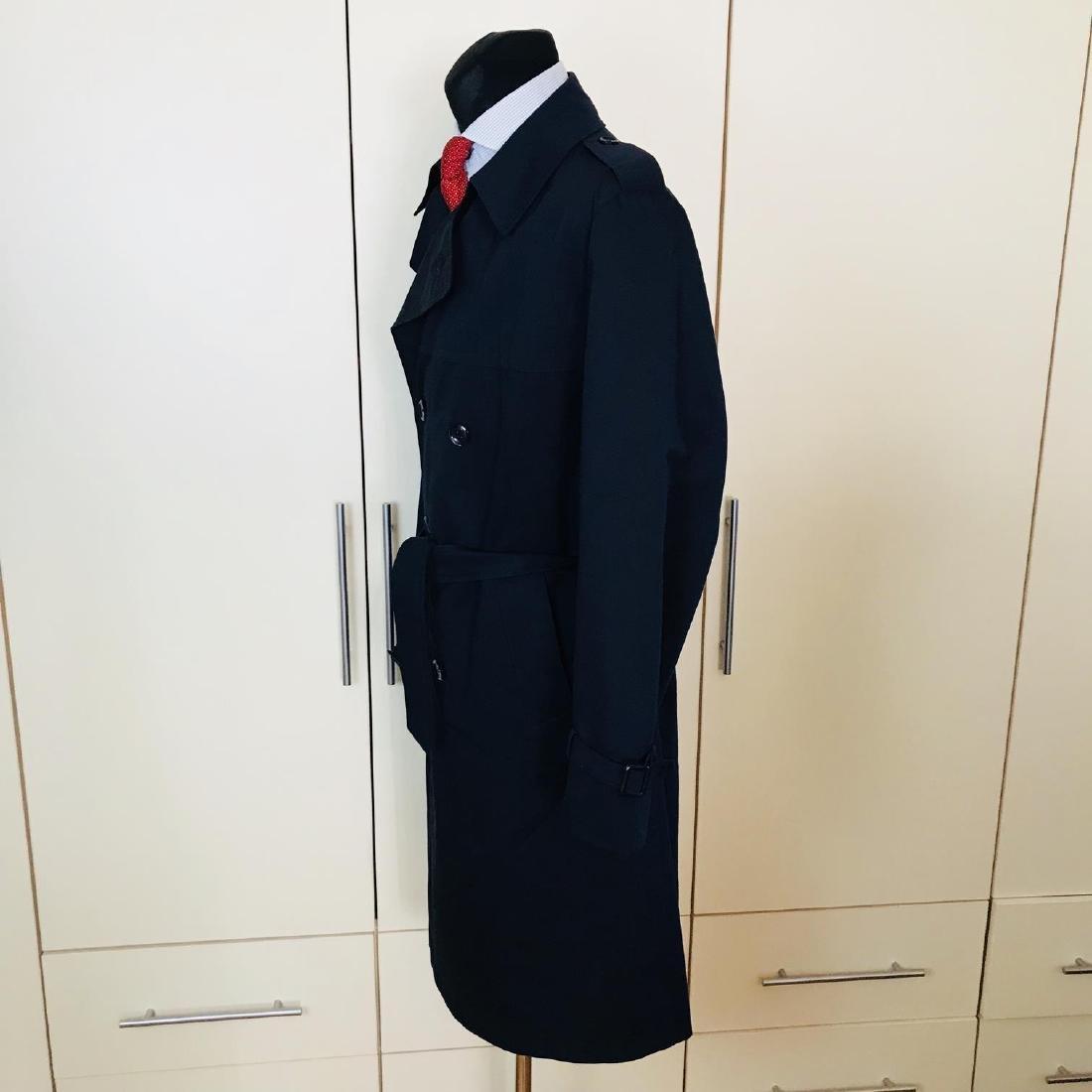Vintage Men's Navy Blue Trench Coat Size US 42 / EUR 52 - 3