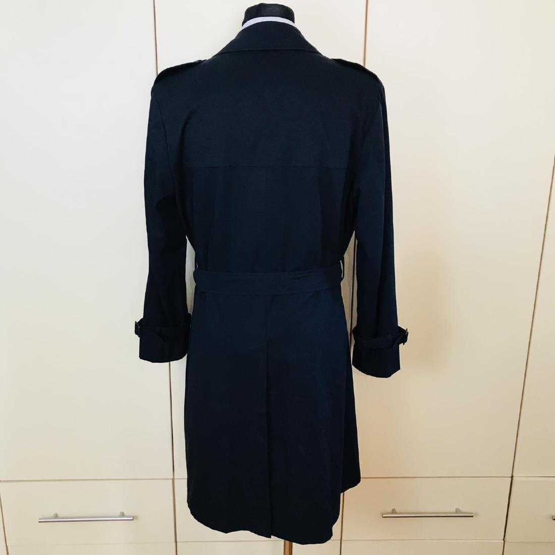 Vintage Men's Navy Blue Trench Coat Size US 42 / EUR 52 - 4