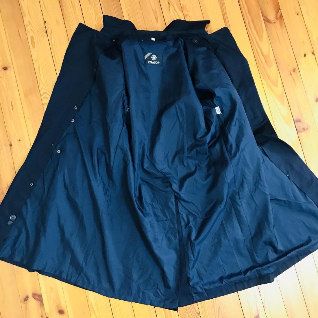 Vintage Men's Navy Blue Trench Coat Size US 42 / EUR 52 - 5