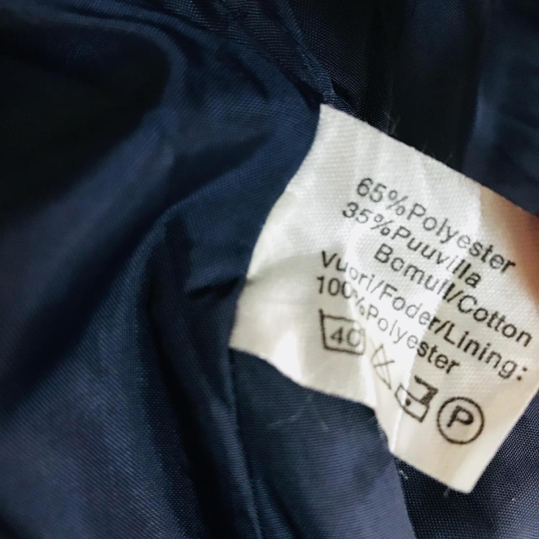 Vintage Men's Navy Blue Trench Coat Size US 42 / EUR 52 - 7
