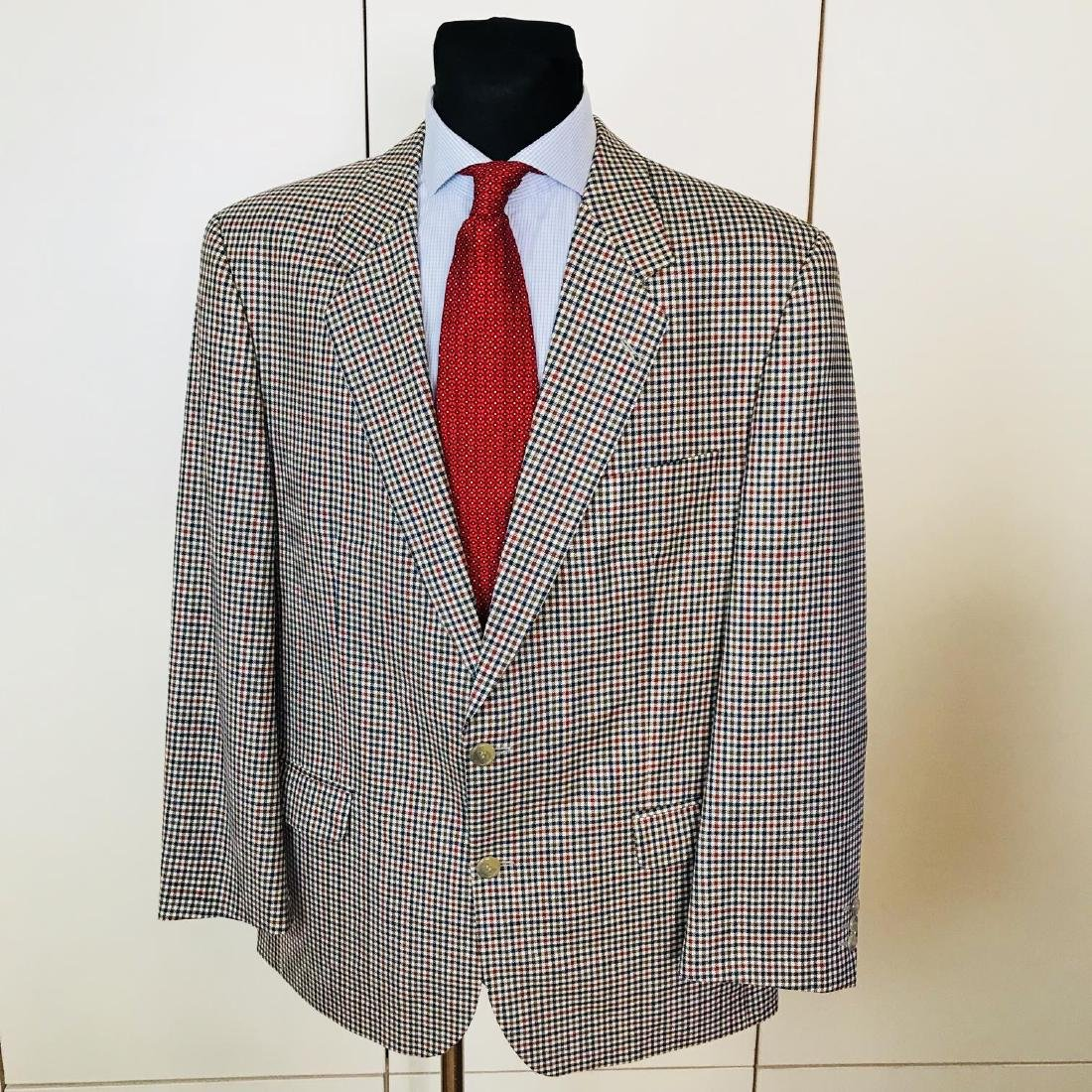 Vintage Men's DESCH Jacket Blazer Size US 46 SHORT