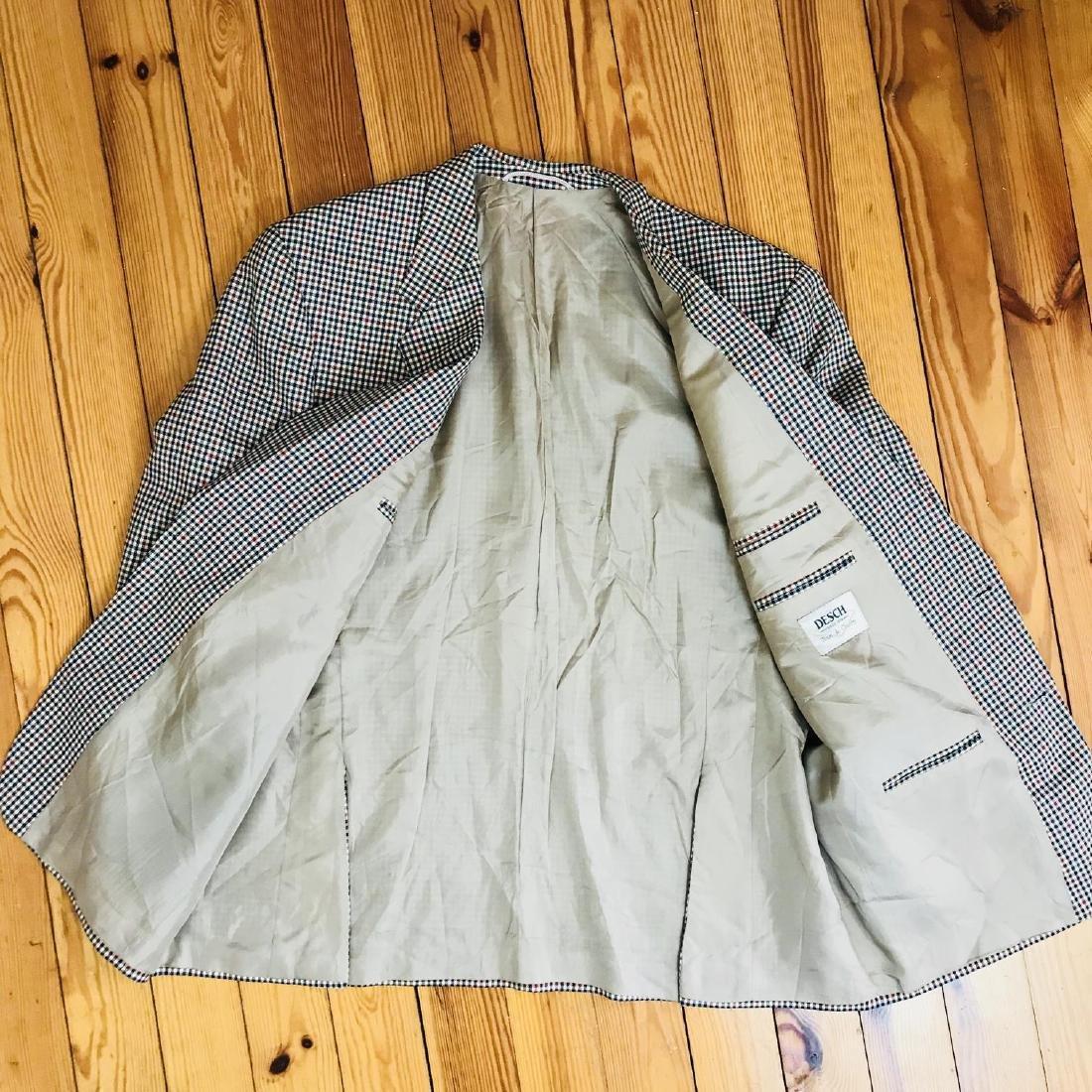 Vintage Men's DESCH Jacket Blazer Size US 46 SHORT - 5