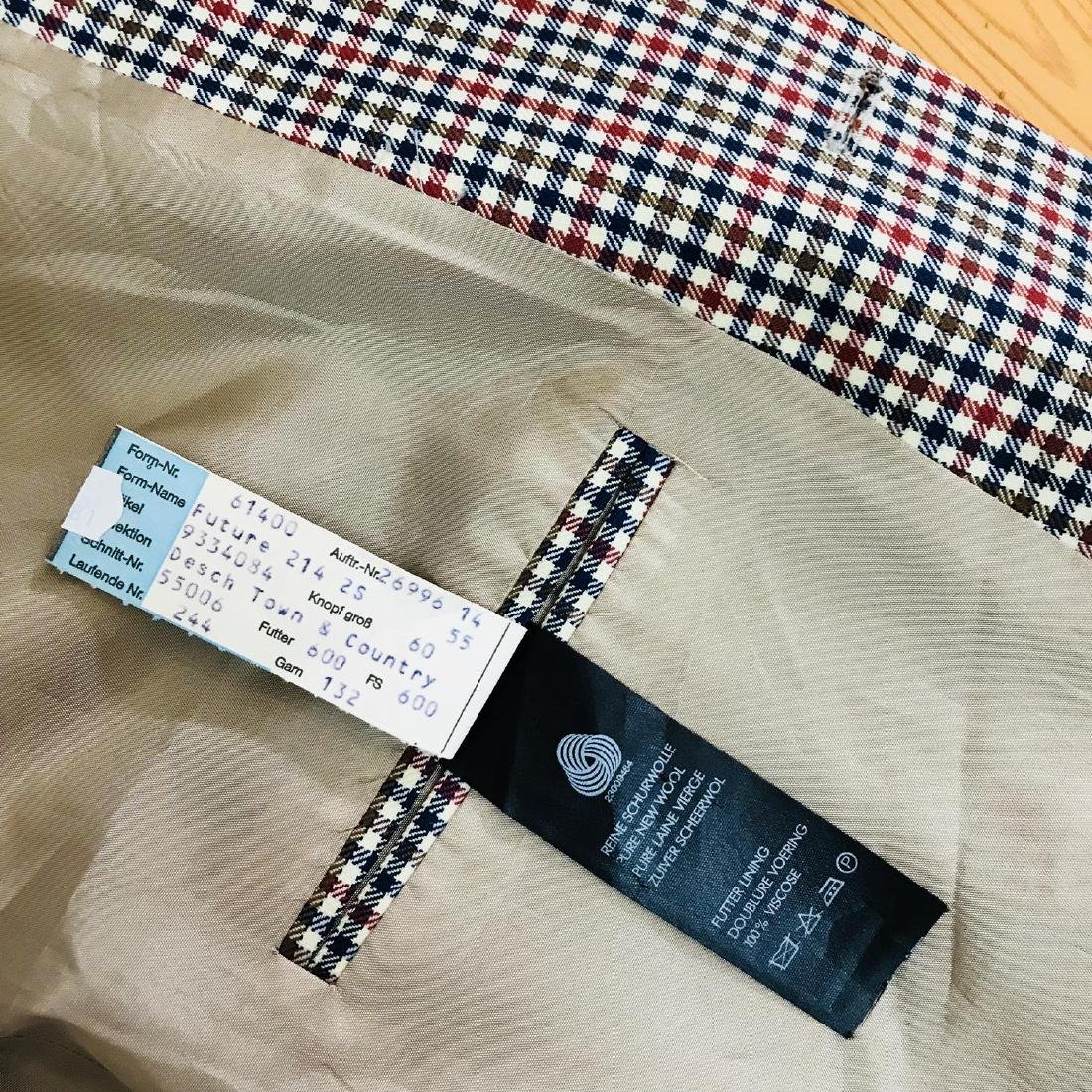 Vintage Men's DESCH Jacket Blazer Size US 46 SHORT - 8