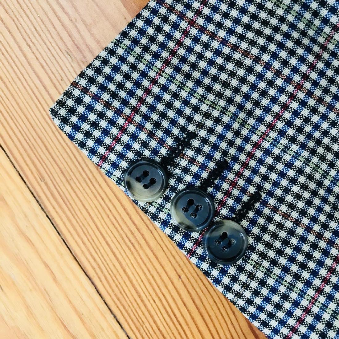 Vintage Men's Paolo Negrato Jacket Blazer Size US 40 - 5