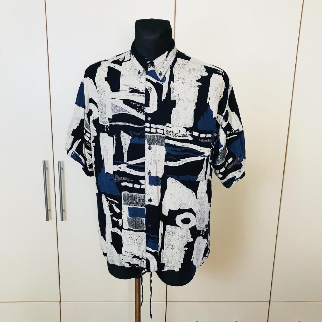 Vintage Men's DAYTON Hawaiian Shirt Top Size XL