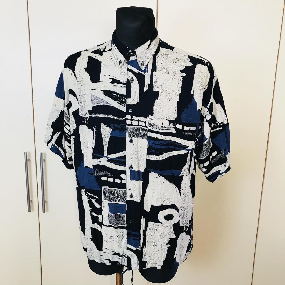Vintage Men's DAYTON Hawaiian Shirt Top Size XL - 2