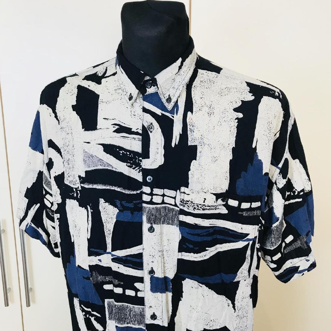Vintage Men's DAYTON Hawaiian Shirt Top Size XL - 3