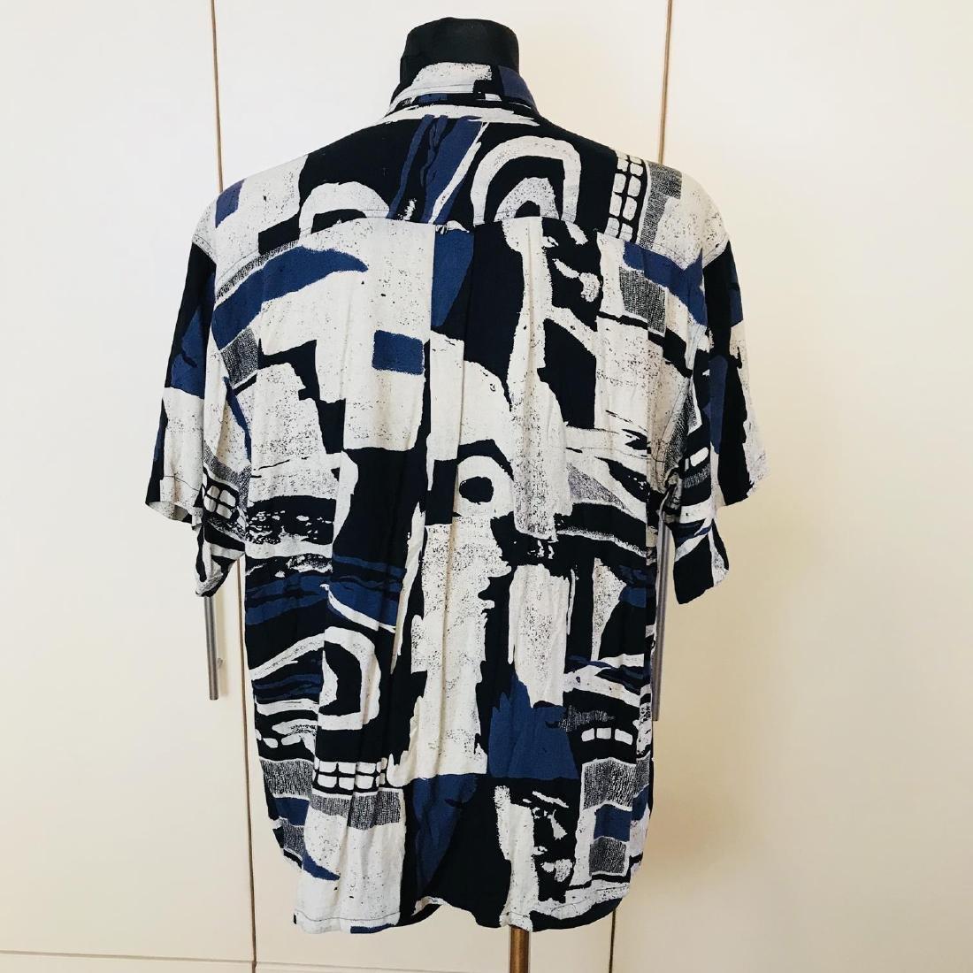 Vintage Men's DAYTON Hawaiian Shirt Top Size XL - 5