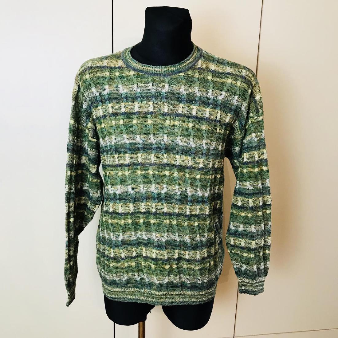 Vintage Men's Italian Designer Sweater Size 44 US 54 EU