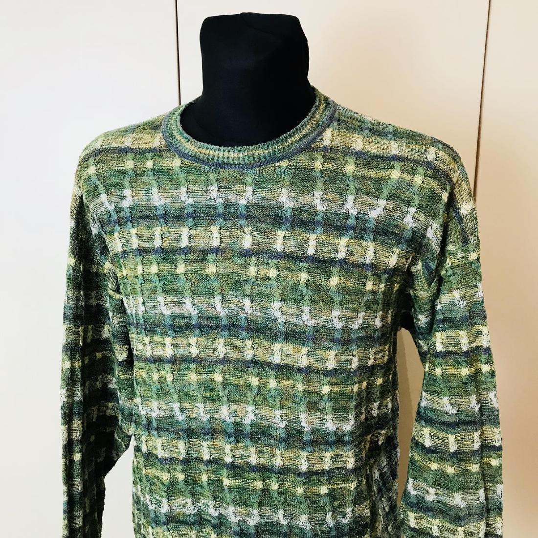 Vintage Men's Italian Designer Sweater Size 44 US 54 EU - 2