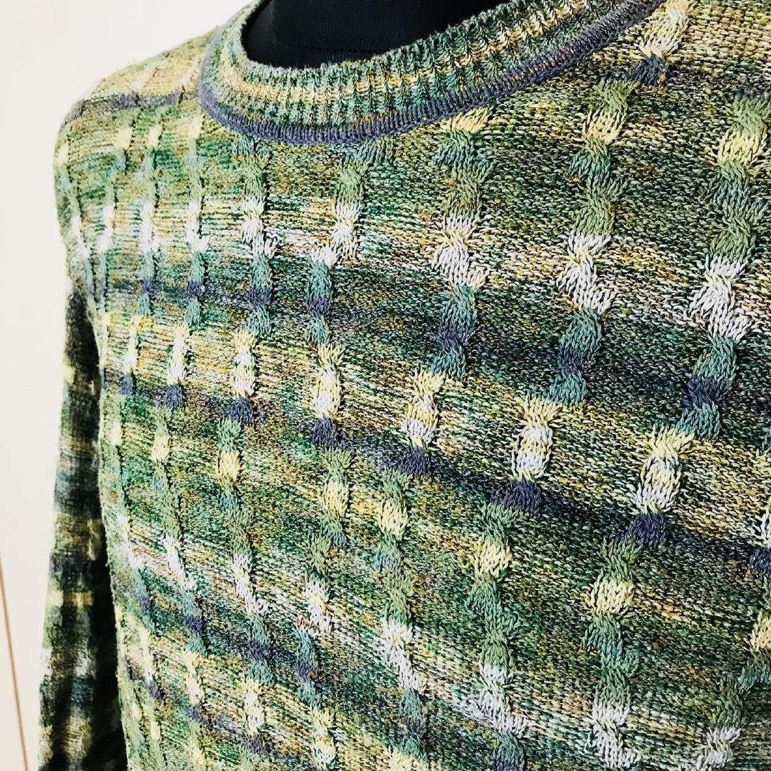 Vintage Men's Italian Designer Sweater Size 44 US 54 EU - 3