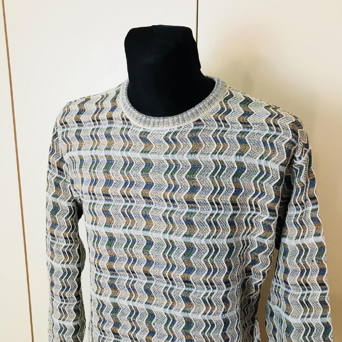 Vintage Men's DRAGON Italian Sweater Size M - 2
