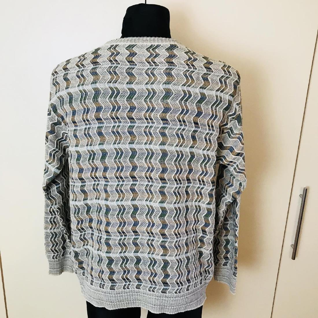 Vintage Men's DRAGON Italian Sweater Size M - 4