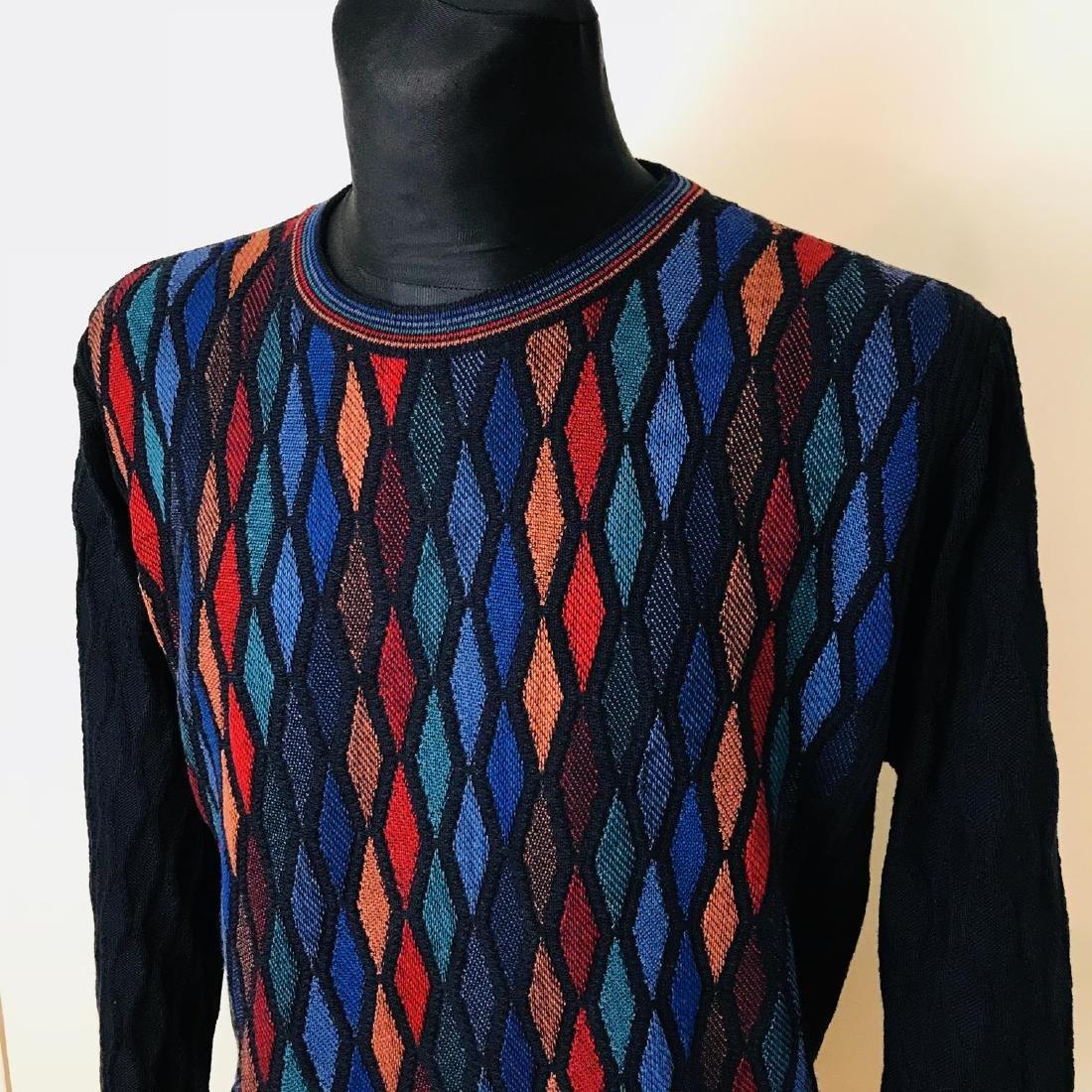 Vintage Men's CARLO COLUCCI Italian Designer Sweater - 2