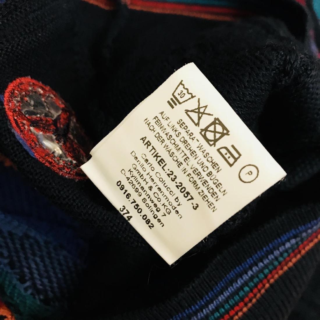 Vintage Men's CARLO COLUCCI Italian Designer Sweater - 8