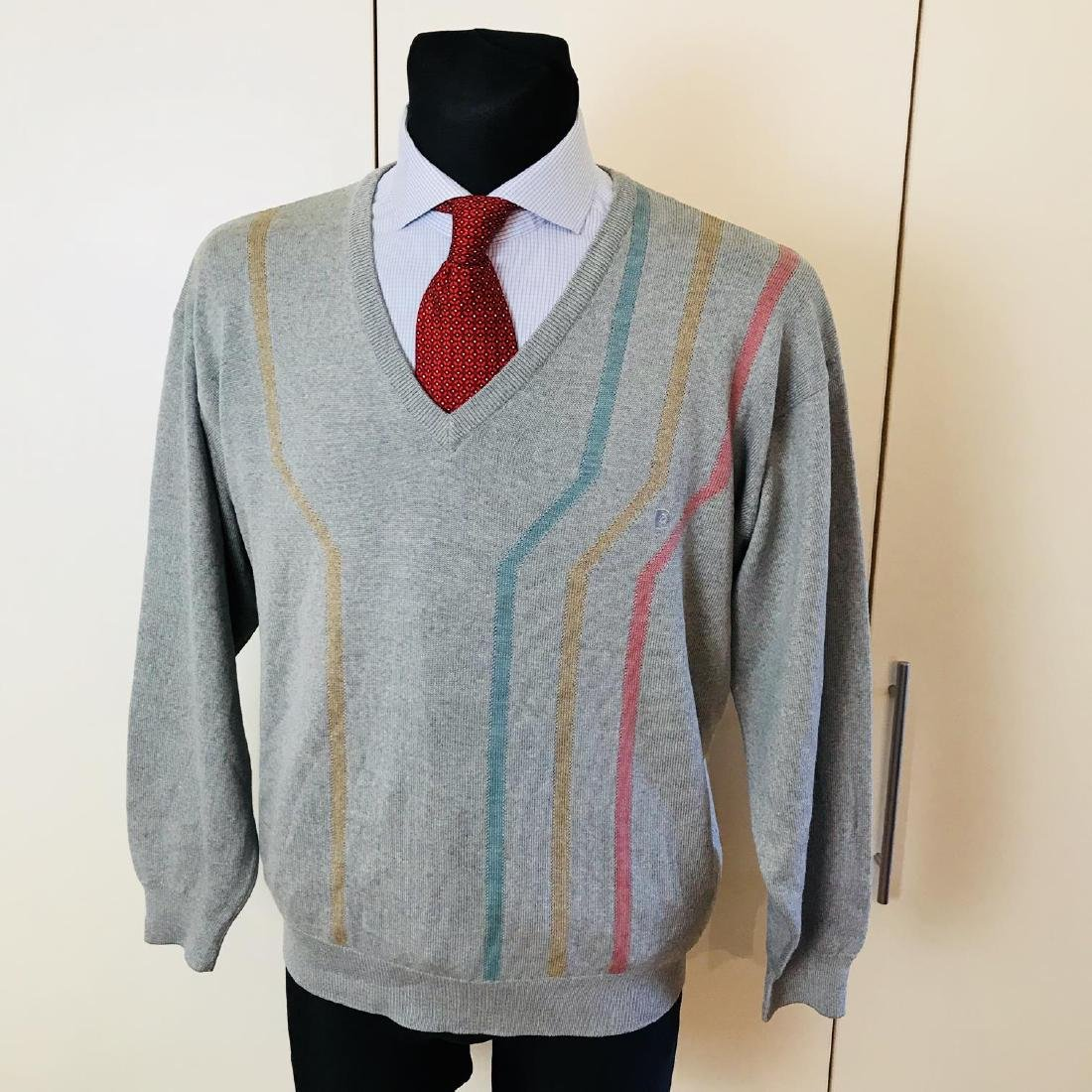 Vintage Men's Pierre Cardin Wool Sweater Size L