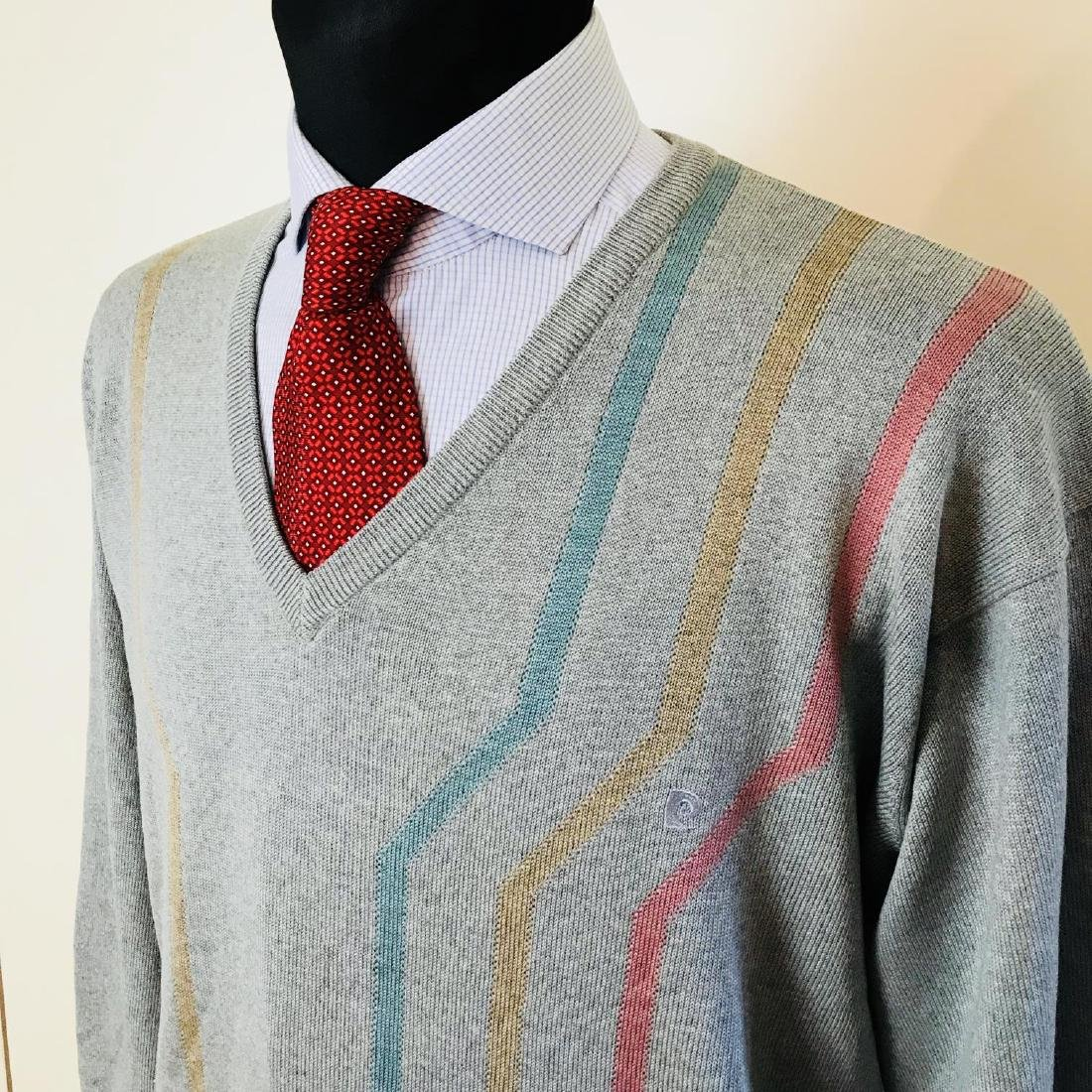 Vintage Men's Pierre Cardin Wool Sweater Size L - 2