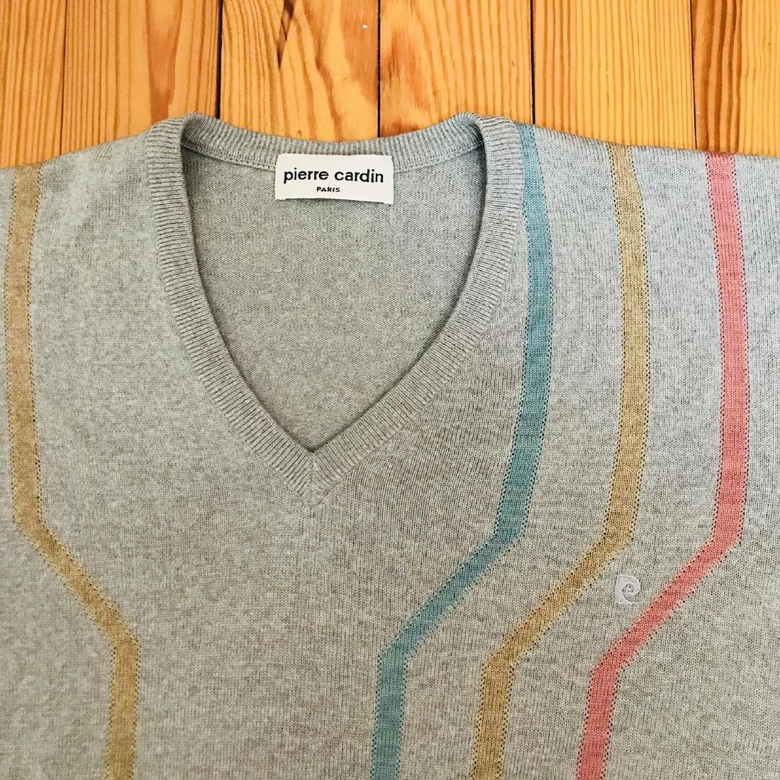 Vintage Men's Pierre Cardin Wool Sweater Size L - 7