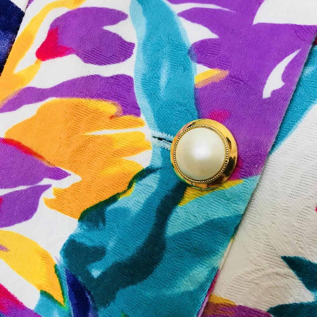 Vintage Women's Braemar Petites Summer Blouse Top Size - 8
