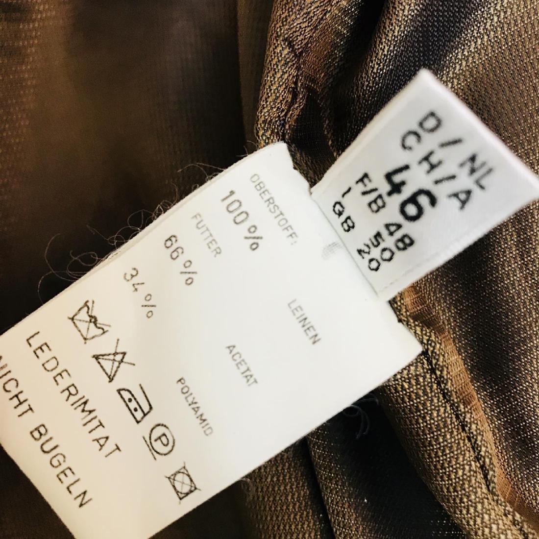 Vintage Women's Linen Tyrolean Style Jacket Size US 20 - 8