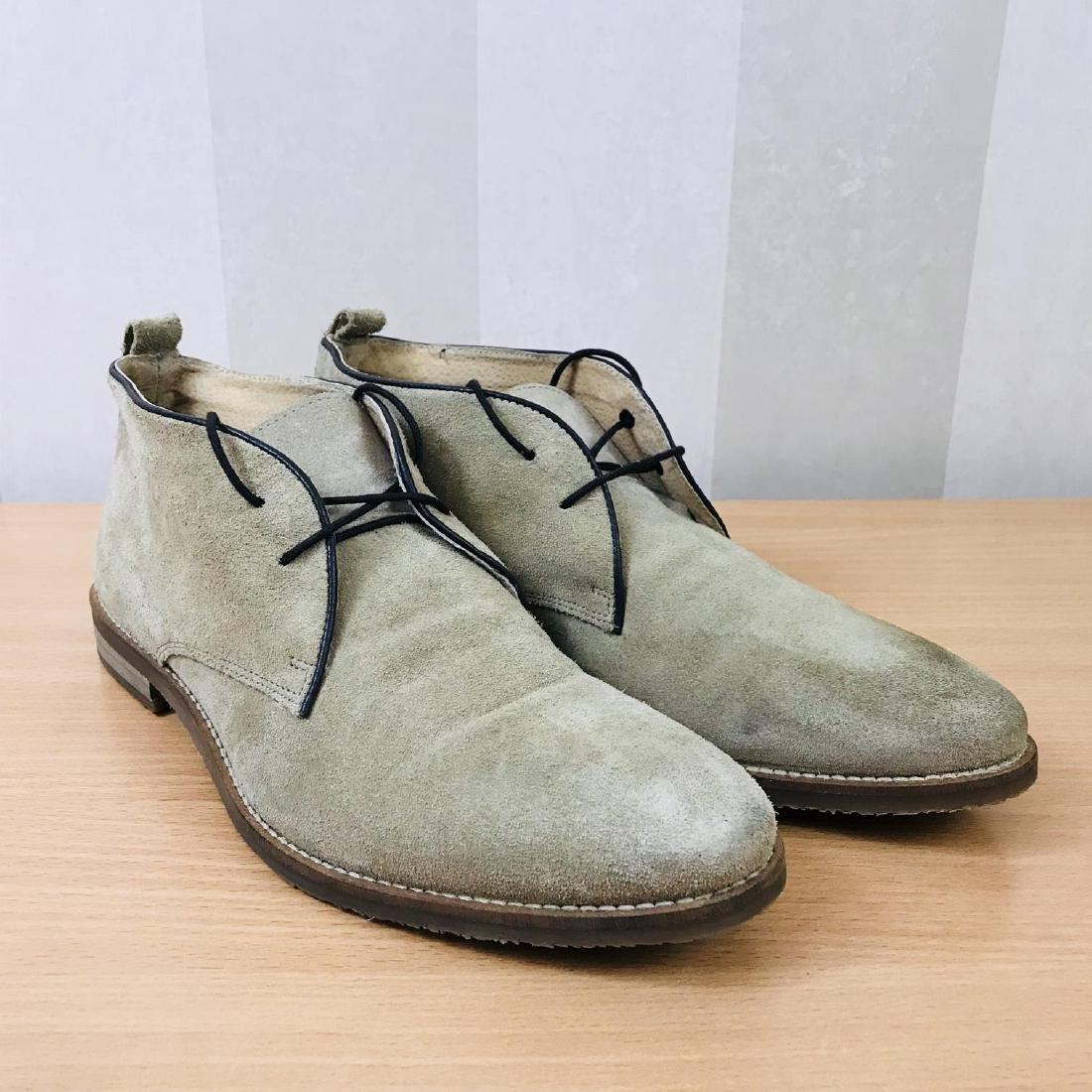 Vintage Men's Suede Leather Shoes Size EUR 44 US 11
