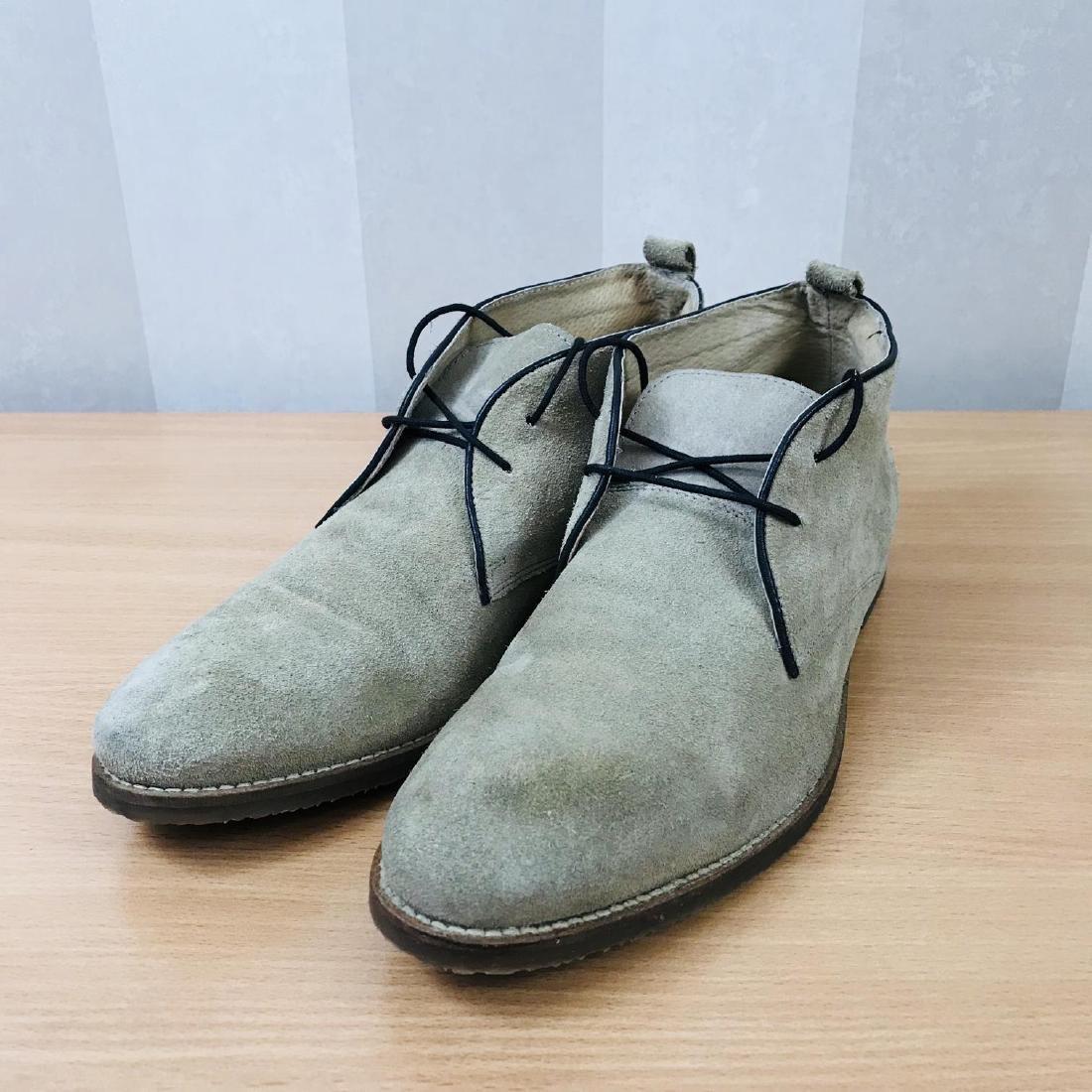 Vintage Men's Suede Leather Shoes Size EUR 44 US 11 - 5