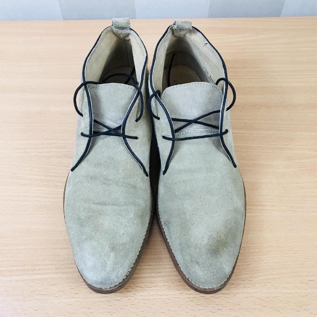 Vintage Men's Suede Leather Shoes Size EUR 44 US 11 - 6