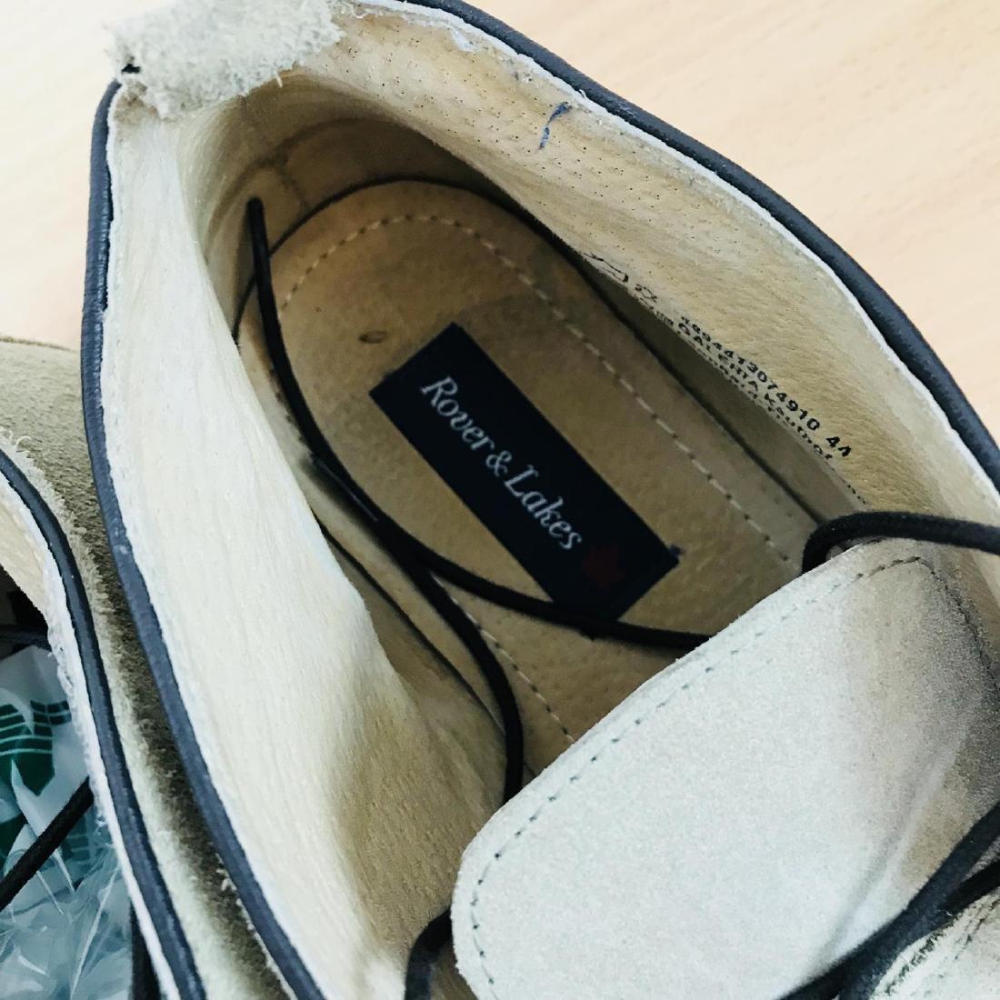 Vintage Men's Suede Leather Shoes Size EUR 44 US 11 - 7