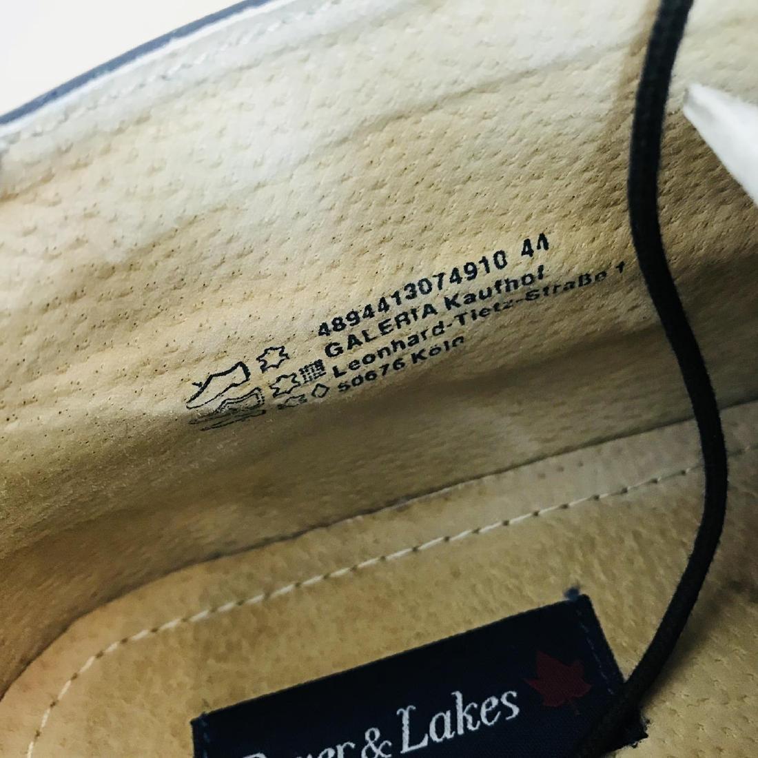 Vintage Men's Suede Leather Shoes Size EUR 44 US 11 - 8