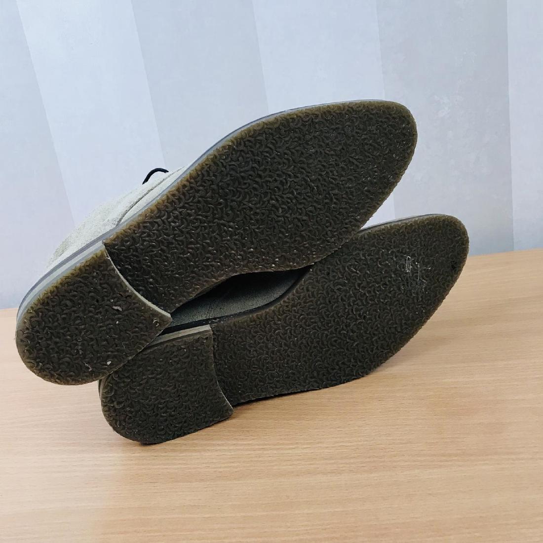 Vintage Men's Suede Leather Shoes Size EUR 44 US 11 - 9