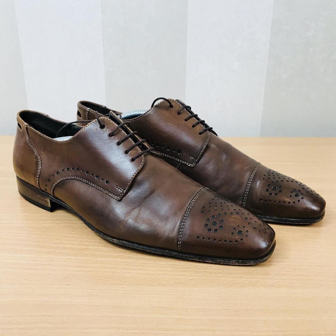 Vintage Men's LLOYD Leather Shoes Size EUR 41 US 8 - 2