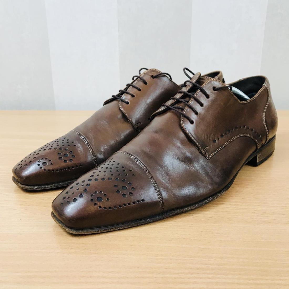 Vintage Men's LLOYD Leather Shoes Size EUR 41 US 8 - 5