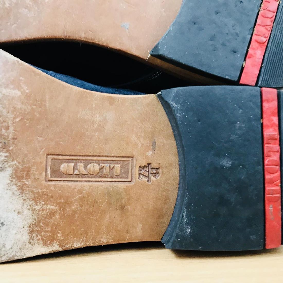 Vintage Men's LLOYD Suede Leather Shoes Size EUR 41 US - 10
