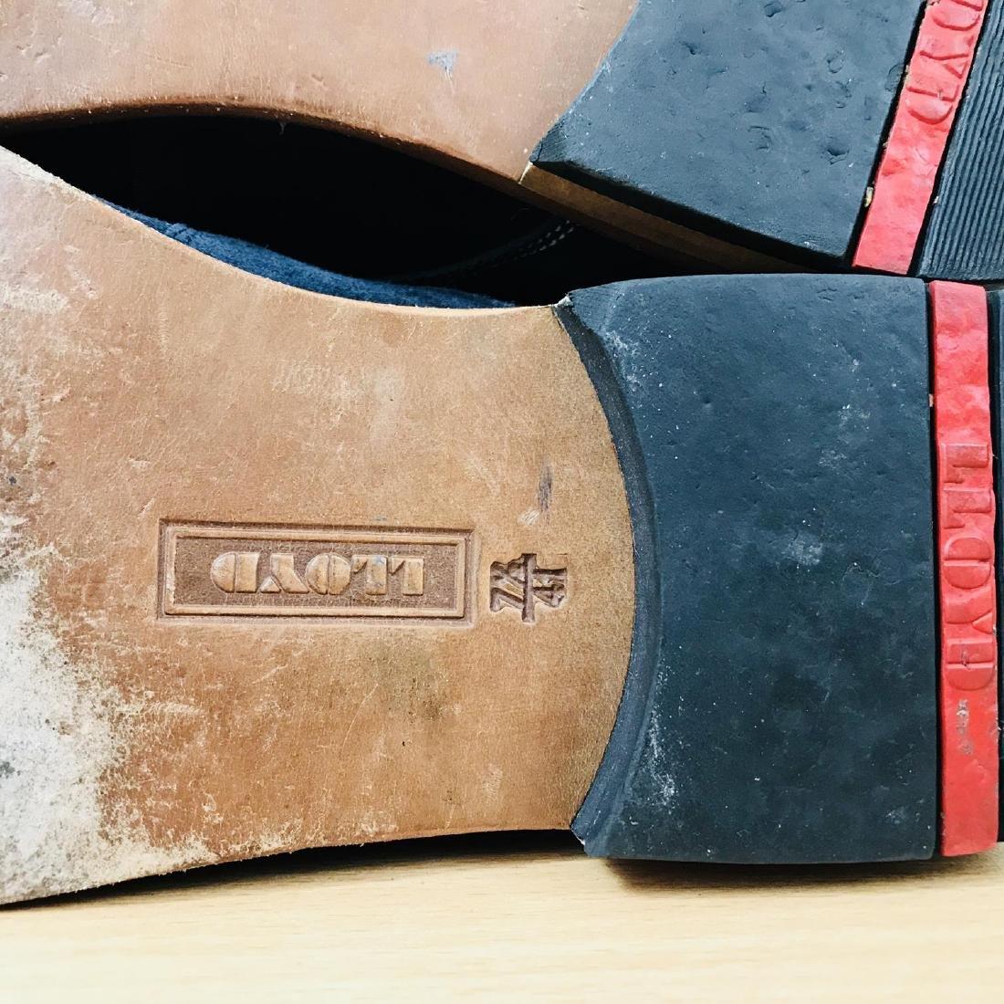 Vintage Men's LLOYD Suede Leather Shoes Size EUR 41 US - 9