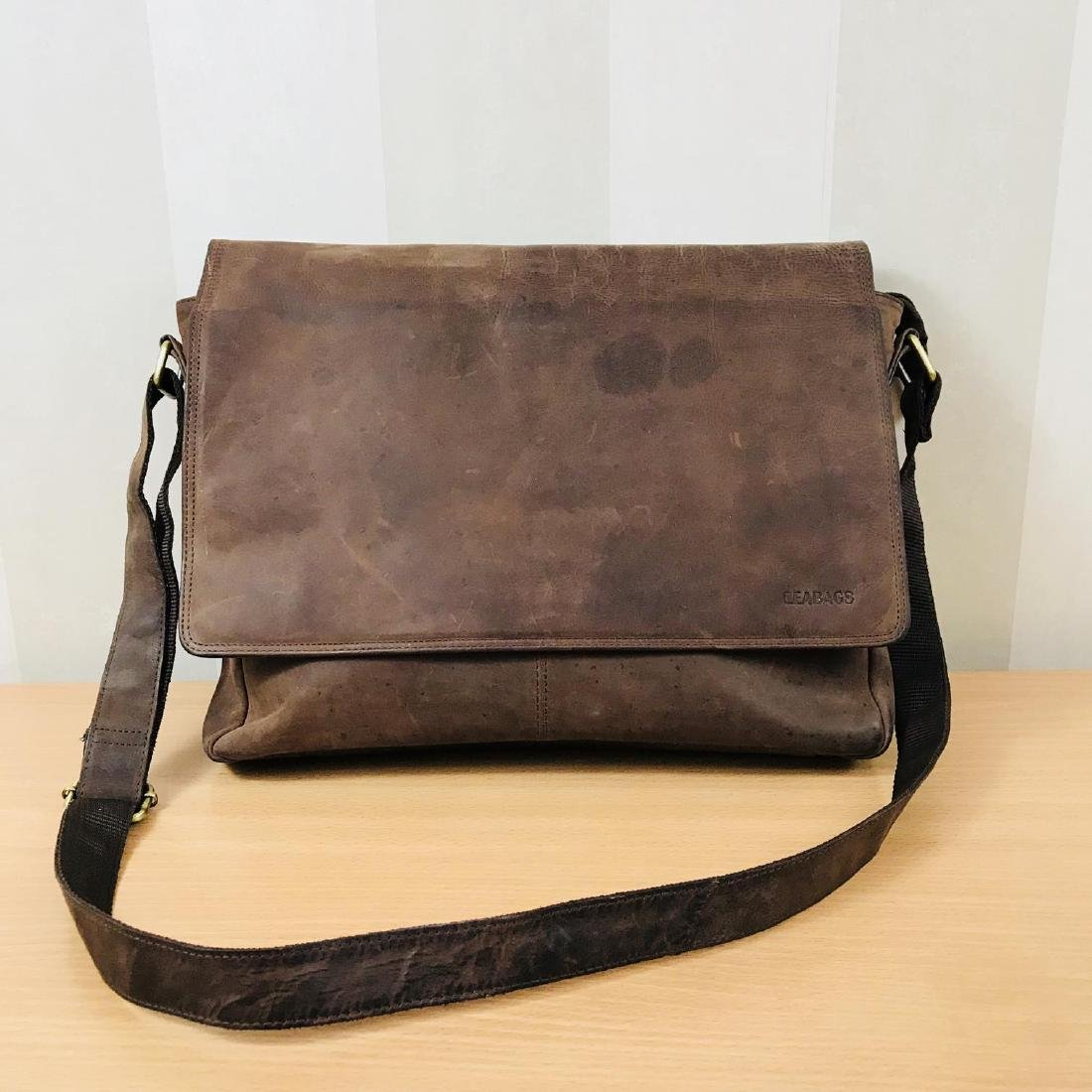 Vintage LEABAGS Leather Shoulder Bag