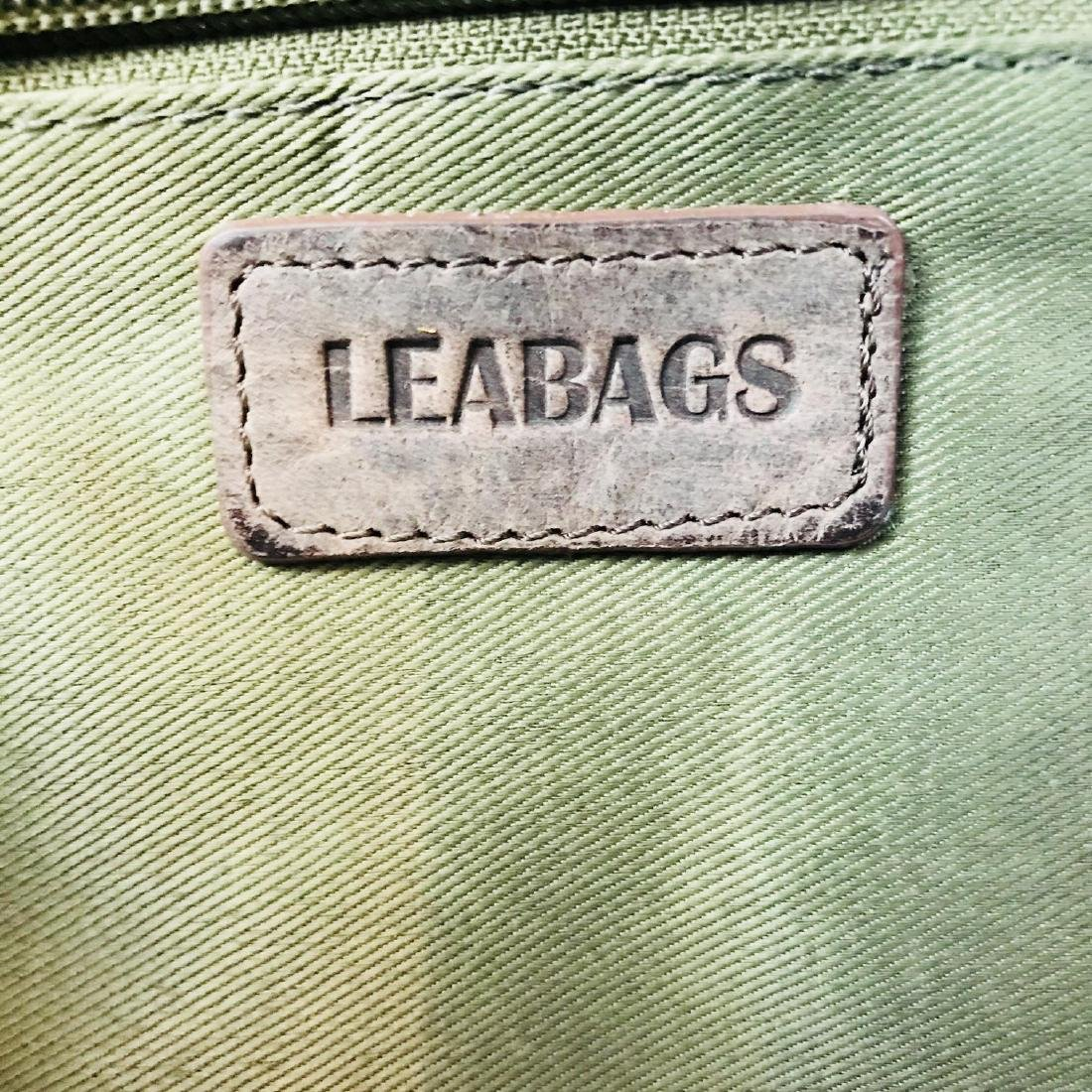 Vintage LEABAGS Leather Shoulder Bag - 6