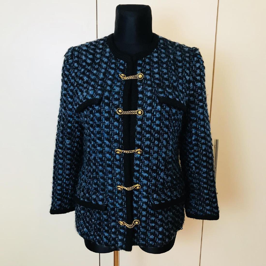 Vintage Women's Designer Jacket Blazer Size EUR 46 US