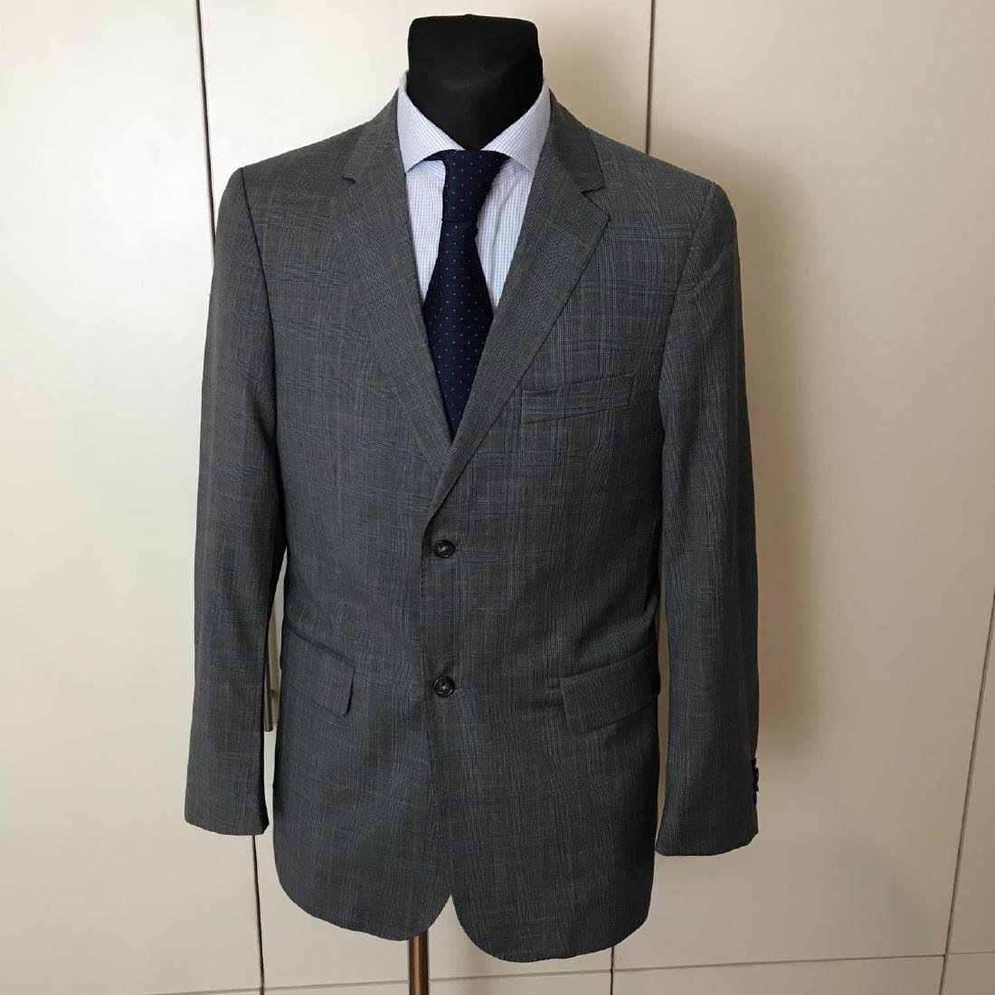 Men's Burberry 100% Virgin Wool Blazer Jacket Size 50