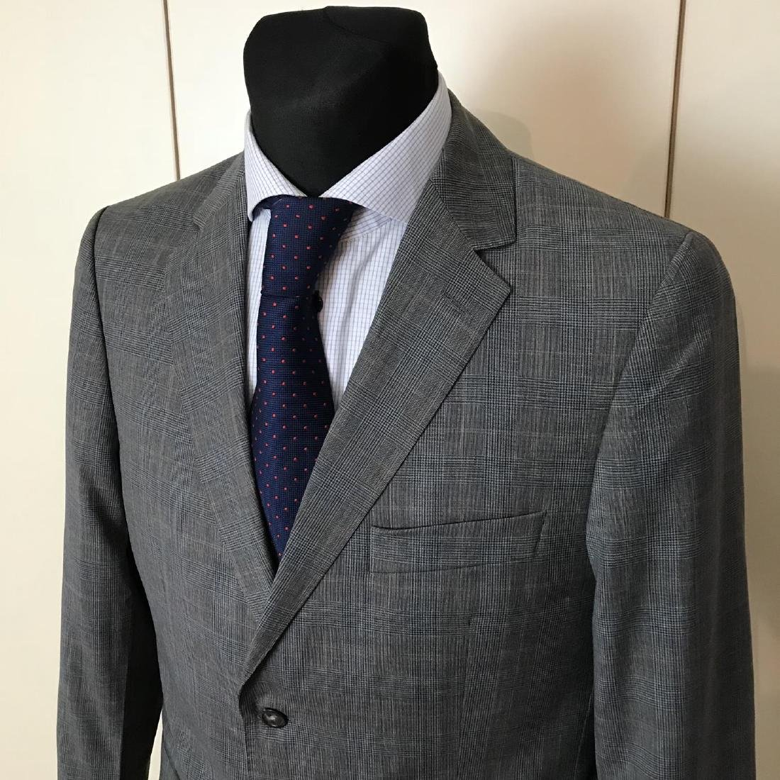 Men's Burberry 100% Virgin Wool Blazer Jacket Size 50 - 2