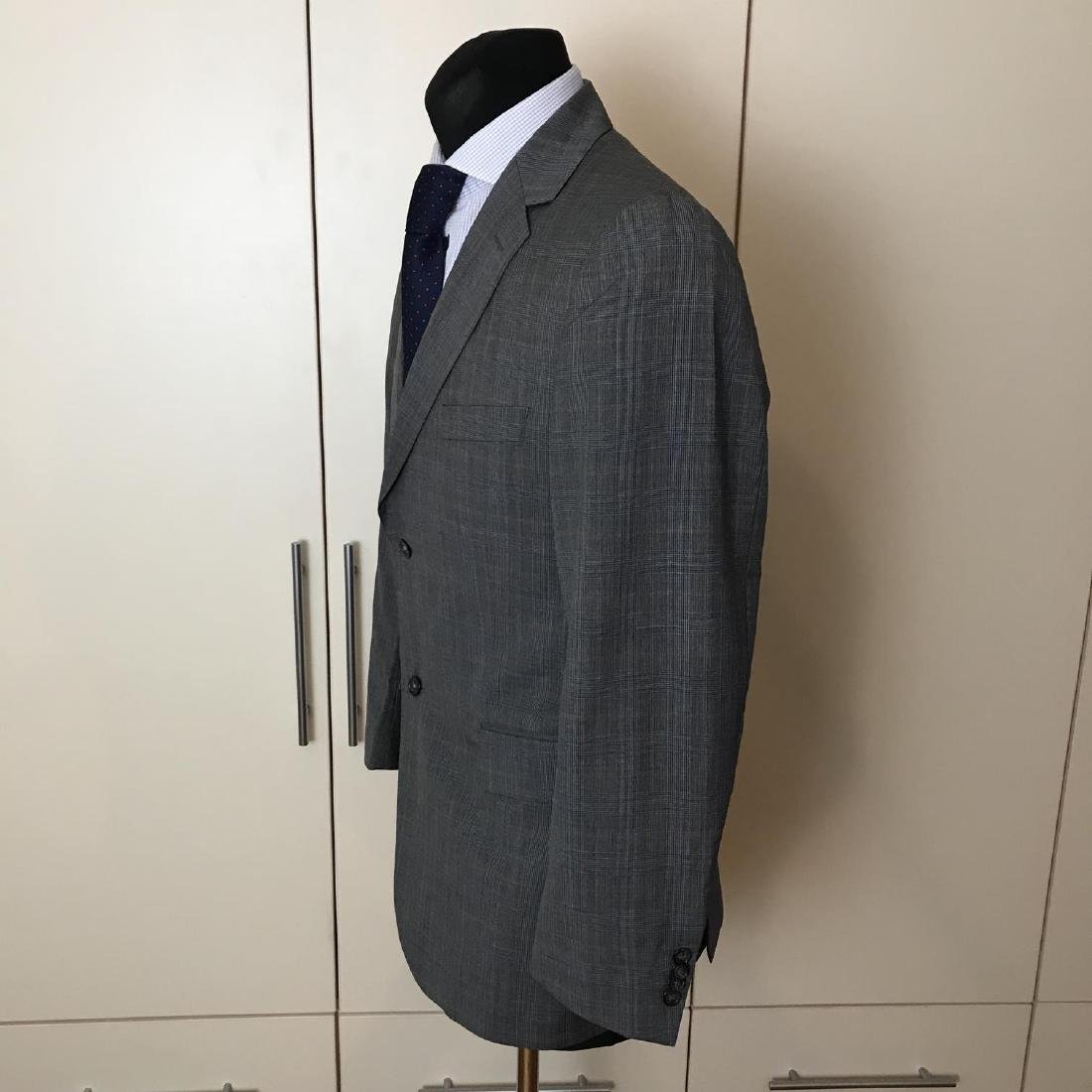 Men's Burberry 100% Virgin Wool Blazer Jacket Size 50 - 4