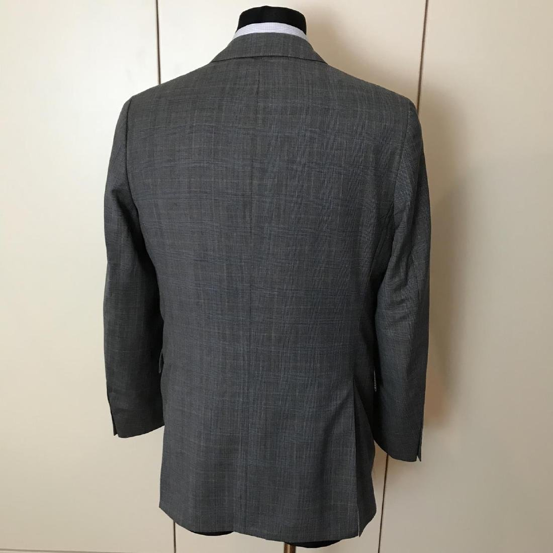 Men's Burberry 100% Virgin Wool Blazer Jacket Size 50 - 5