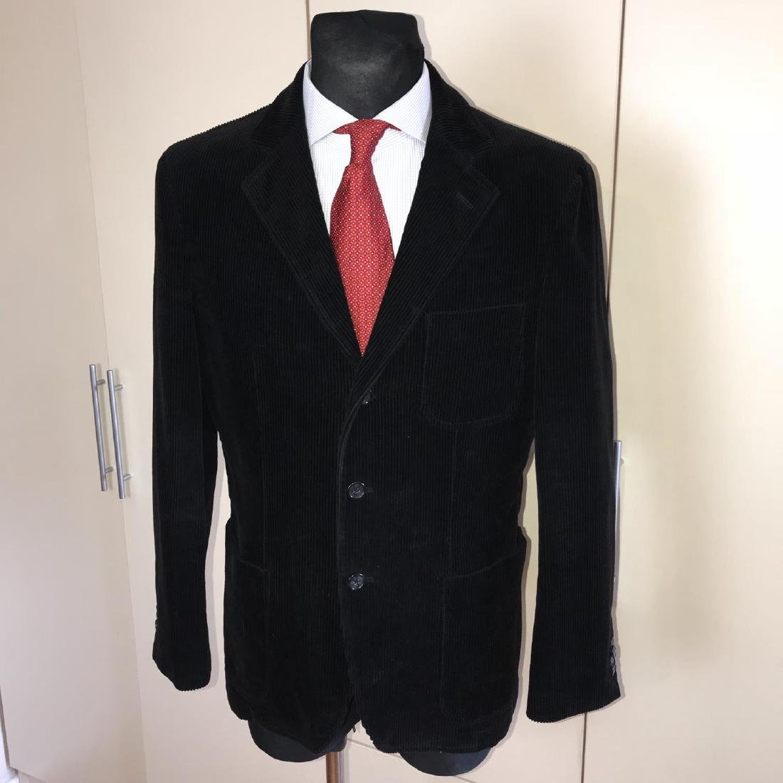 Men's GANT Black Velvet Jacket Blazer Size 48 EU 38 US